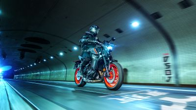 Yamaha MT-09, Naked bikes, 2021, 5K