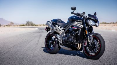 Triumph Speed Triple RS, Cafe racer, Sports bikes, 5K
