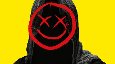 Smiley, Hoodie, Yellow background, Smiley Face Killers