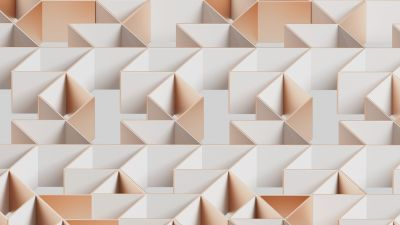 Symmetry, Design, Pattern, Imagination, Golden, Bright