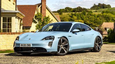 Porsche Taycan 4S, 2021