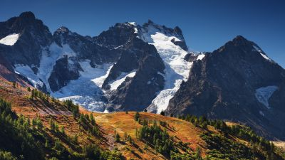Meije, Mountains, Alps, Landscape