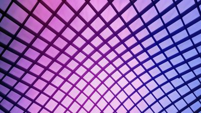 Mesh Illustration, Atrium, Purple background, Texture, National Portrait Gallery, Washington DC, Ceiling, Geometrical, Symmetrical