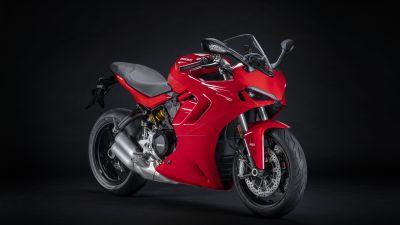Ducati SuperSport 950, Sports bikes, Dark background, 2021, 5K, 8K