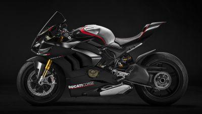 Ducati Panigale V4 SP, 2021, Dark background