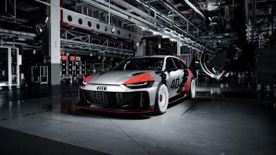 Audi RS6 GTO Concept, Race cars, Concept cars, 2021, 5K