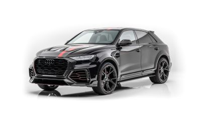 Audi RS Q8, Mansory, White background, 2020