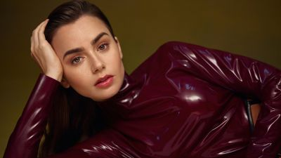 Lily Collins, American actress, 5K