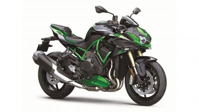 Kawasaki Z H2 SE, Sports bikes, 2021, White background