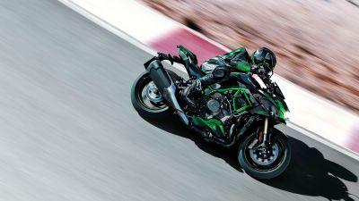 Kawasaki Z H2 SE, 2021, Sports bikes, Racing bikes, Race track