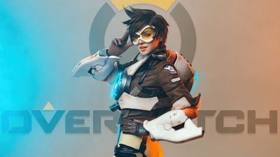 Tracer, Cosplay, Overwatch