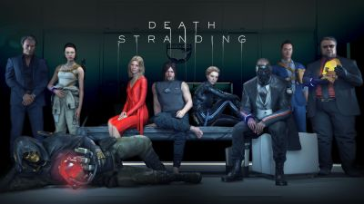 Death Stranding, PlayStation 4, PC Games, 2020, 5K, 8K