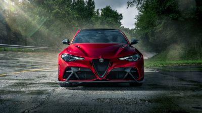 Alfa Romeo Giulia GTAm, Performance Sedan, Super saloon, 2021, 5K, 8K