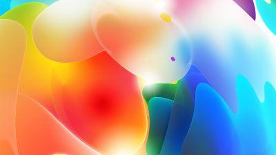 3D, Gradients, Colorful, Glow, Light
