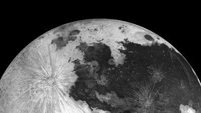 Moon, ColorOS, Stock, Astronomy, Black background