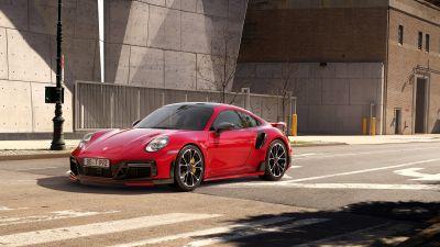 Porsche 911 Turbo S, TechArt, 2021