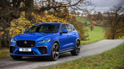 Jaguar F-Pace SVR, 2021, 5K