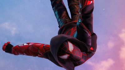 Marvel's Spider-Man: Miles Morales, Photo mode, PlayStation 5, 2020 Games, 5K