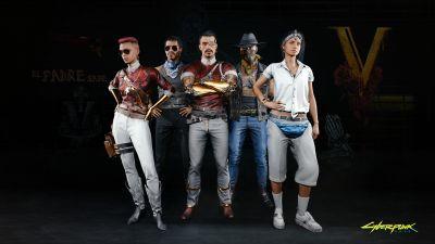 Cyberpunk 2077, Valentinos, Night City, Gangs, 2020 Games