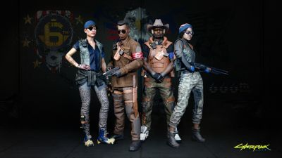 Cyberpunk 2077, Gangs, 6th Street, Crazy Patriots, 2020 Games