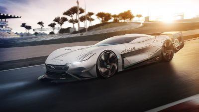 Jaguar Vision Gran Turismo SV, Hypercars, Concept cars, 2021, 5K, 8K