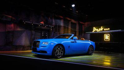 Rolls-Royce Cullinan Black Badge, 2021, 5K