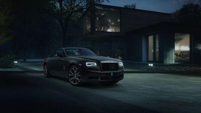 Rolls-Royce Wraith Kryptos Collection, 2021