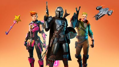 Fortnite, The Mandalorian, Skin, 2020 Games, Season 5