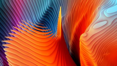 Colorful background, Abstract background, macOS Sierra, Stock, 5K