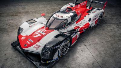 Toyota GR010 Hybrid, Le Mans Sports cars, Hypercars, 2021, Race cars, 5K, 8K