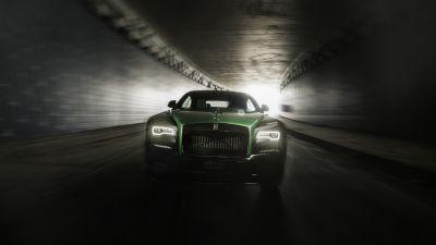 Rolls-Royce Wraith Black Badge, Sportive Collection, 2021, 5K, 8K