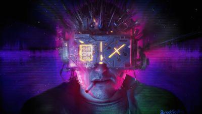 Neuromancer, Artwork, Sci-Fi, Concept Art
