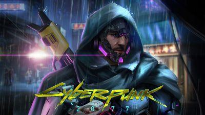 Johnny Silverhand, Cyberpunk 2077, Fan art, Keanu Reeves