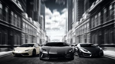Lamborghini Cars, Sports cars, Luxury cars, Automobile, Speed, 5K