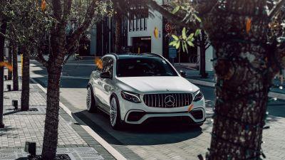 Mercedes-Benz AMG GLE 63 S, White cars, 5K