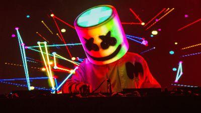 Marshmello, Live concert, American DJ