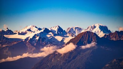 Swiss Alps, Mountains, Summit, Peaks, Switzerland, 5K
