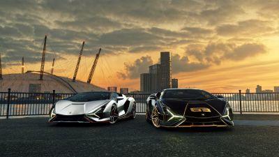 Lamborghini Sián FKP 37, 2021, 5K