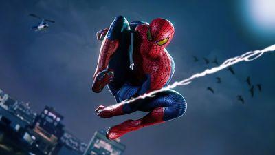 Marvel's Spider-Man, Remastered, 2021 Games, PlayStation 5, 5K