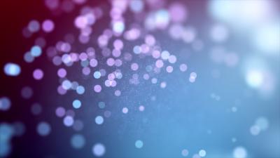 Lights Bokeh, Circles, Blur background, Blue, Purple, Pattern