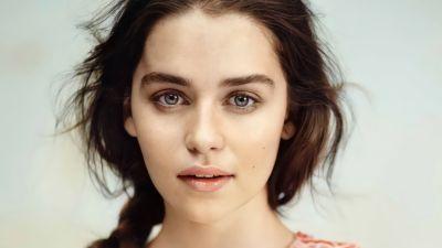 Emilia Clarke, English actress, Beautiful actress, 5K