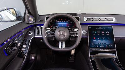 Mercedes-Benz S 350 d AMG Line, Interior, Cockpit, 2021, 5K
