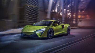 McLaren Artura, Supercars, PHEV cars, 2022, 5K, 8K