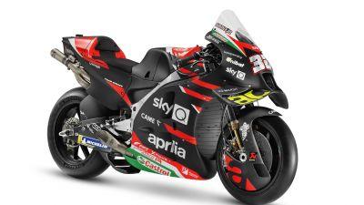Aprilia RS-GP MotoGP, 2021, MotoGP bikes, White background, 5K