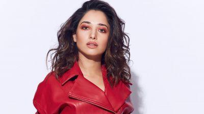 Tamanna Bhatia, Indian actress, White background