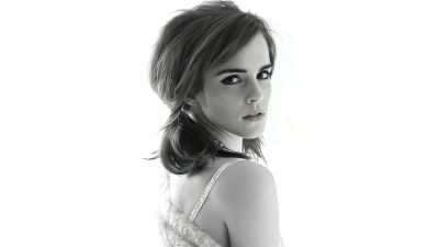 Emma Watson, Monochrome, Photoshoot, 5K