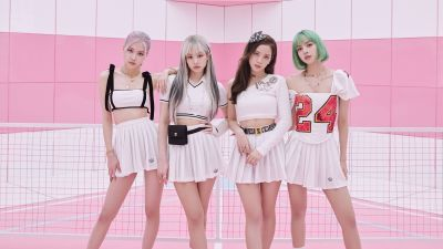 Blackpink - Ice Cream, Jisoo, Jennie, Rose, Lisa, K-Pop singers, Blackpink