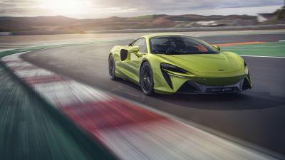 McLaren Artura, Race track, Sports cars, 2021, 5K, 8K