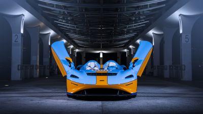 McLaren Elva, Gulf Theme, 2021, 5K, 8K