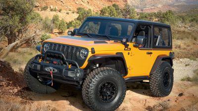 Jeep Orange Peelz, 2021, Off-roading